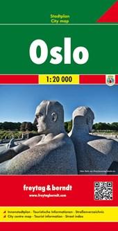 Oslo 1 : 20 000. Stadtplan
