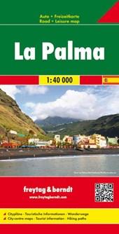 La Palma  1 : 40 000. Auto- und Freizeitkarte