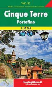 Cinque Terre - Portofino 1 : 50 000. Wander- und Freizeitkarte