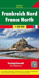 Frankreich Nord / France Nord 1 : 500 000. Autokarte |  |