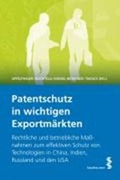 Patentschutz in wichtigen Exportmärkten