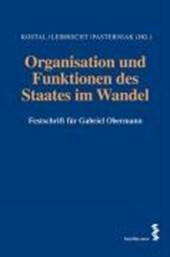 Organisation und Funktionen des Staates im Wandel