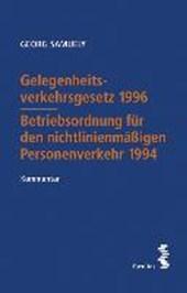 Gelegenheitsverkehrsgesetz 1996 - Betriebsordnung für den nichtlinienmäßigen Personenverkehr