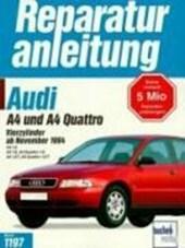 Audi A4 und A4 Quattro. Vierzylinder ab November