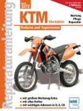 KTM Viertakter. Enduros und Supermotos