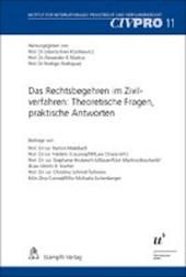 Das Rechtsbegehren im Zivilverfahren: Theoretische Fragen, praktische Antworten