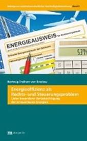 Energieeffizienz als Rechts- und Steuerungsproblem