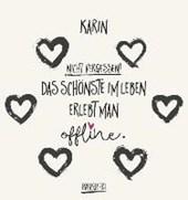 Namenskalender Karin