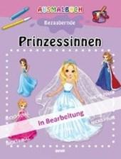 Ausmalbuch bezaubernde Prinzessinen