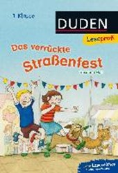 Moll, S: Leseprofi - Das verrückte Straßenfest, 1. Kl