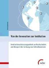 Von der Innovation zur Institution