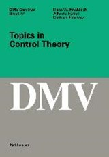 Topics in Control Theory | Hans W. Knobloch |
