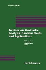 Seminar on Stochastic Analysis, Random Fields and Applications | auteur onbekend |