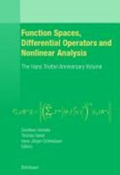 Function Spaces, Differential Operators and Nonlinear Analysis