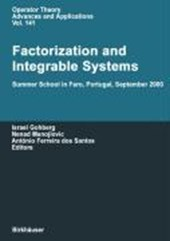 Factorization and Integrable Systems |  |