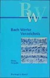 Bach-Werke-Verzeichnis. Kleine Ausgabe