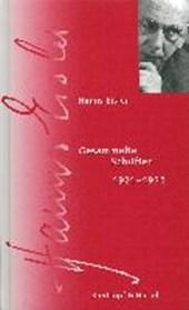 Gesamtausgabe / Gesammelte Schriften 1921-1935