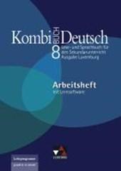 Kombi-Buch Deutsch 8 Ausgabe Luxemburg Arbeitsheft