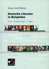 Deutsche Literatur in Beispielen