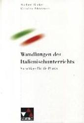 Wandlungen des Italienischunterrichts