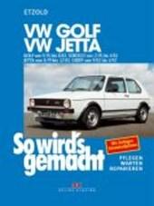 So wird's gemacht, GOLF von 9/74 bis 8/83, Scirocco von 2/74 bis 4/81, Jetta von 8/79 bis 12/83, Caddy von 9/82 bis