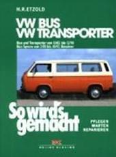 So wird's gemacht, VW Bus und Transporter von 10/82 bis 12/90 - VW Bus Syncro von 2/85 bis