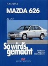 So wird's gemacht. Mazda 626 ab
