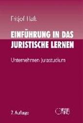 Einführung in das juristische Lernen