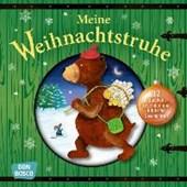 Meine Weihnachtstruhe - 12 Mini-Bilderbücher im praktischen Schuber