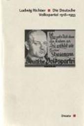 Die Deutsche Volkspartei 1918 -