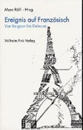 Ereignis auf Französisch