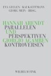 Hannah Arendt und Giorgio Agamben