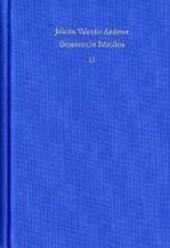 Gesammelte Schriften / Autobiographie. Bücher 1 bis 5.