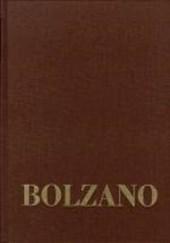 Bernard Bolzano Gesamtausgabe / Reihe III: Briefwechsel / Briefwechsel mit Michael Josef Fesl