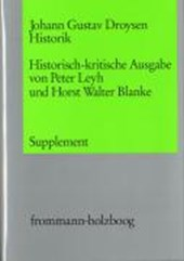 Historik. Supplementband