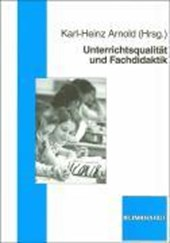 Unterrichtsqualität und Fachdidaktik