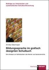 Bildungssprache im grafisch designten Schulbuch