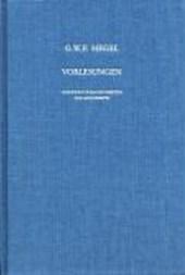 Vorlesungen über die Philosophie der Religion III. Die vollendete Religion