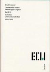 Gesammelte Werke. Hamburger Ausgabe / Aufsätze und kleine Schriften (1932-1935)