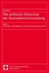Die politische Dimension der Auslandsberichterstattung 2