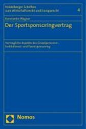 Der Sportsponsoringvertrag