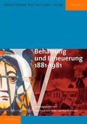 Geschichte des Bistums Trier / Beharrung und Erneuerung 1881-1981