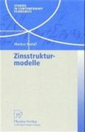 Zinsstrukturmodelle