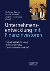 Unternehmensentwicklung mit Finanzinvestoren