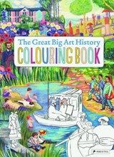 Great big art history colouring book | Annabelle Von Sperber |