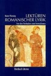 Lektüren romanischer Lyrik