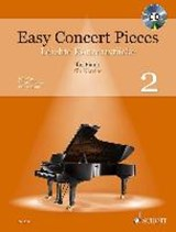 Easy Concert Pieces. Klavier Band 2. Ausgabe mit CD | auteur onbekend |