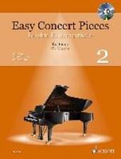 Easy Concert Pieces. Band 2. Klavier. Ausgabe mit CD