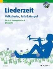 Liederzeit. 1-2 Trompeten in B. Ausgabe mit CD