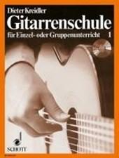 Gitarrenschule für Einzel- oder Gruppenunterricht 1. Inkl. CD